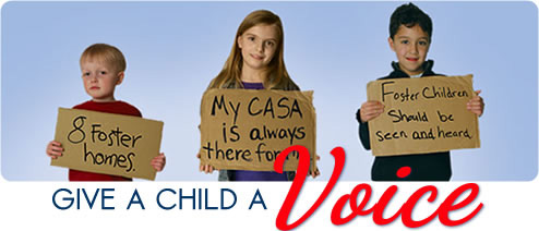 CASA gives kids a voice!