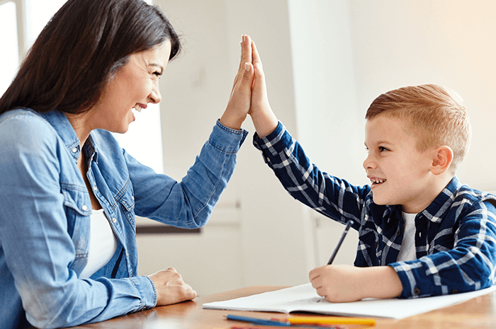 High Five with Child